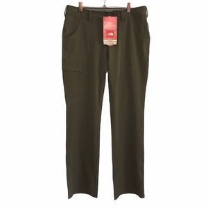NWT The Nort Face Women's UPF 50 Olive Green Pants